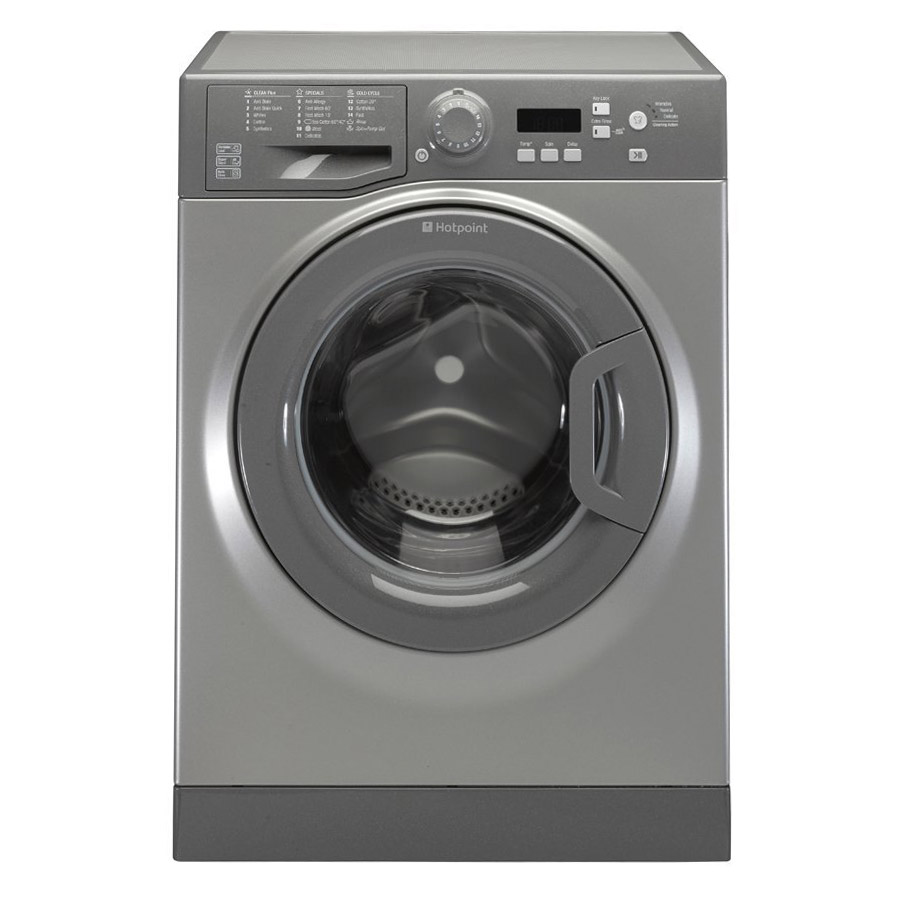 Hotpoint WMBF742G | Graphite 7kg Washing Machine -0