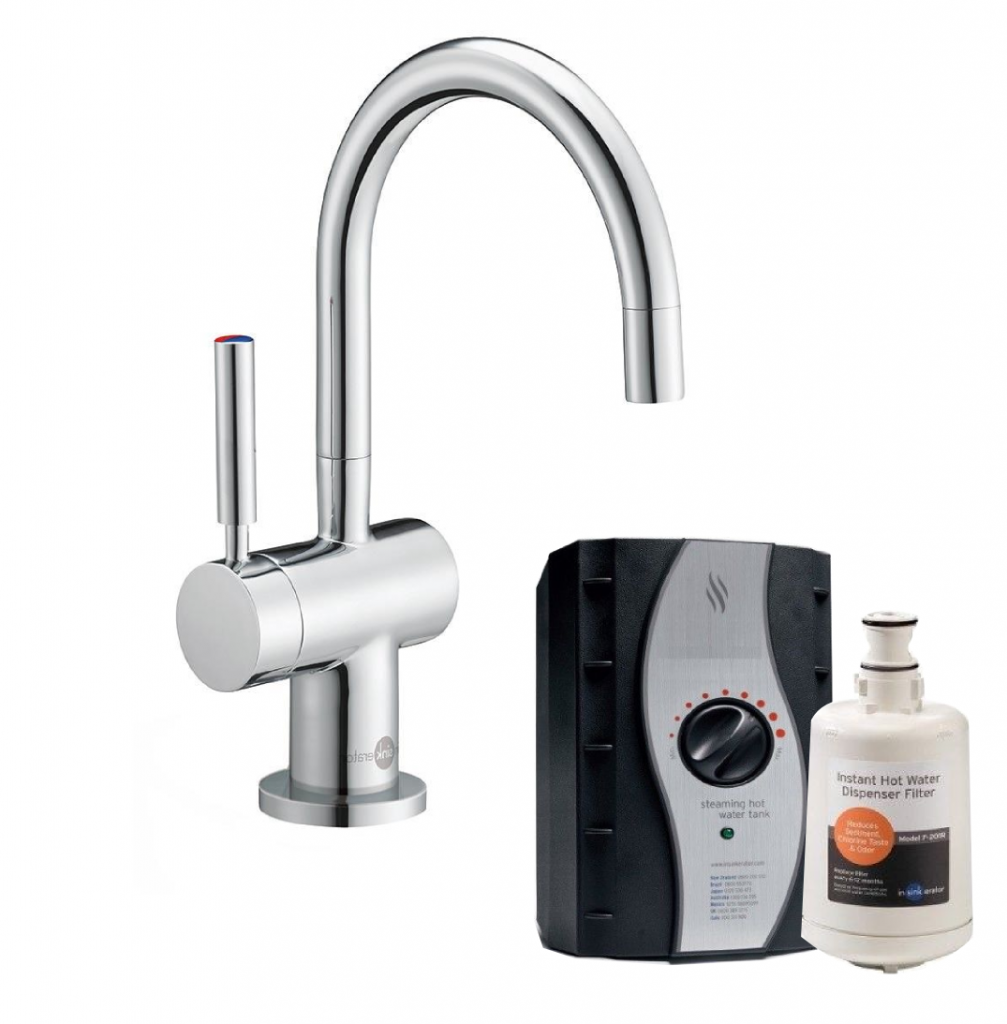 InSinkErator HC3300C   Instant Hot & Cold Water Tap Complete Kit - Chrome-0