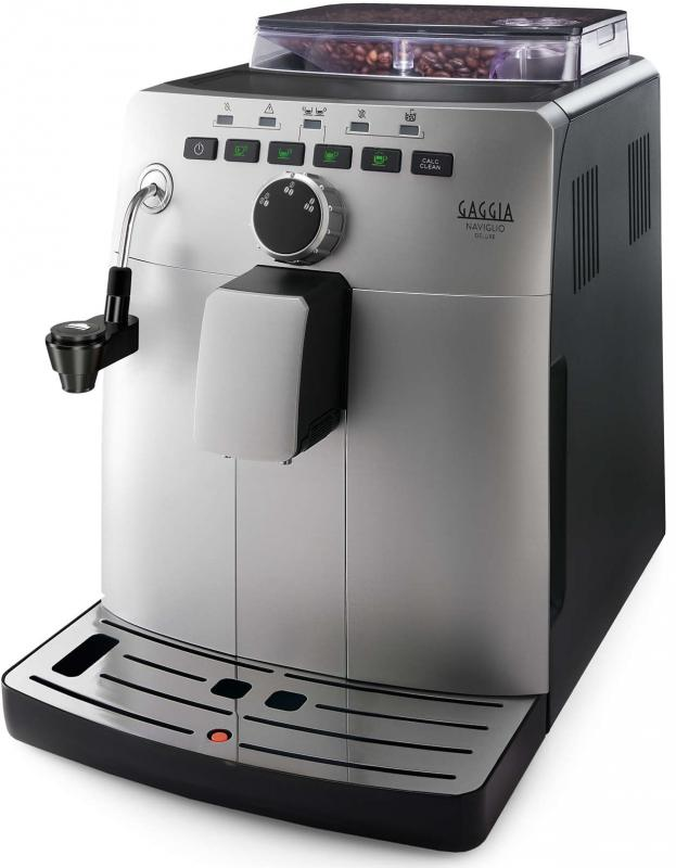 Gaggia Naviglio Deluxe | Bean To Cup Coffee Machine - Silver and Black-0