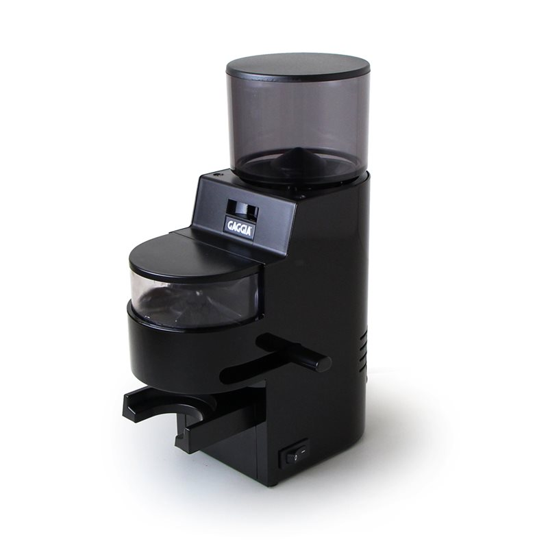 Gaggia MDF | 34 Setting Burr Coffee Grinder - Black-0