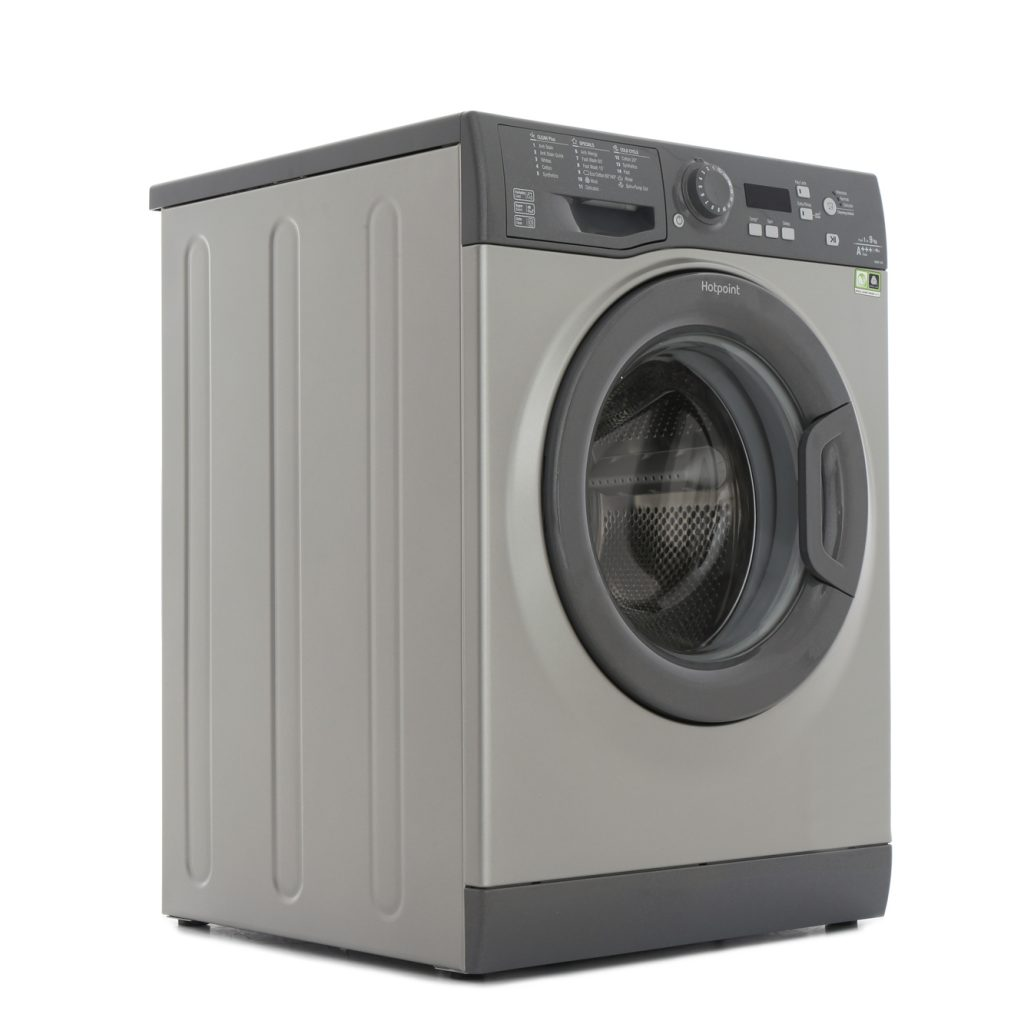 Hotpoint WMBF944G | Experience Eco 9kg 1400 spin Washing Machine - Graphite-0