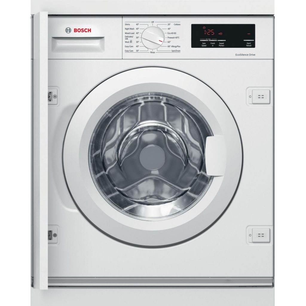 Bosch WIW28301GB Serie 6 Integrated 8kg Washing machine - White