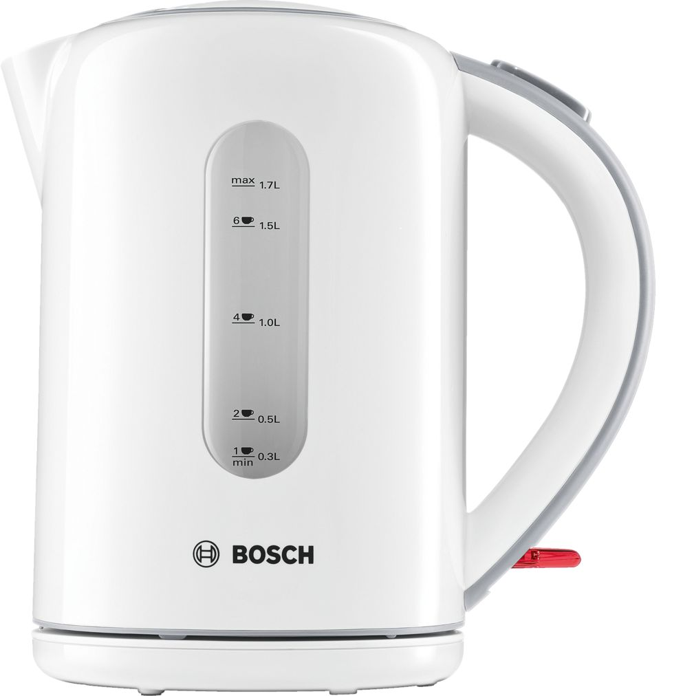 Bosch TWK7601GB Village Collection Kettle, 1.7 L - White
