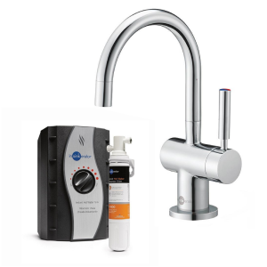 InSinkErator HC3300C & 3300 Mains Mixer Tap Pack | Matching Taps - Chrome-2358