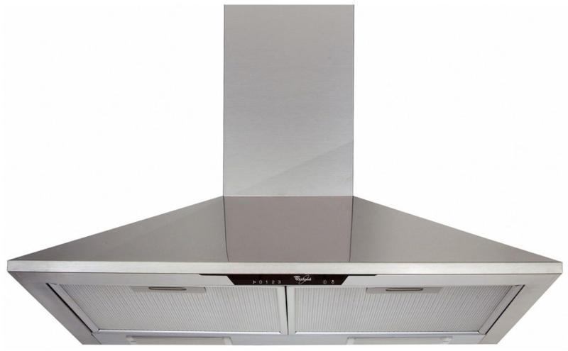 Whirlpool AKR672IX | 60cm Chimney Cooker hood - Stainless Steel-0