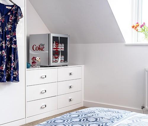 Husky HY209 | Diet Coke Branded Table Top Drinks Chiller-3279