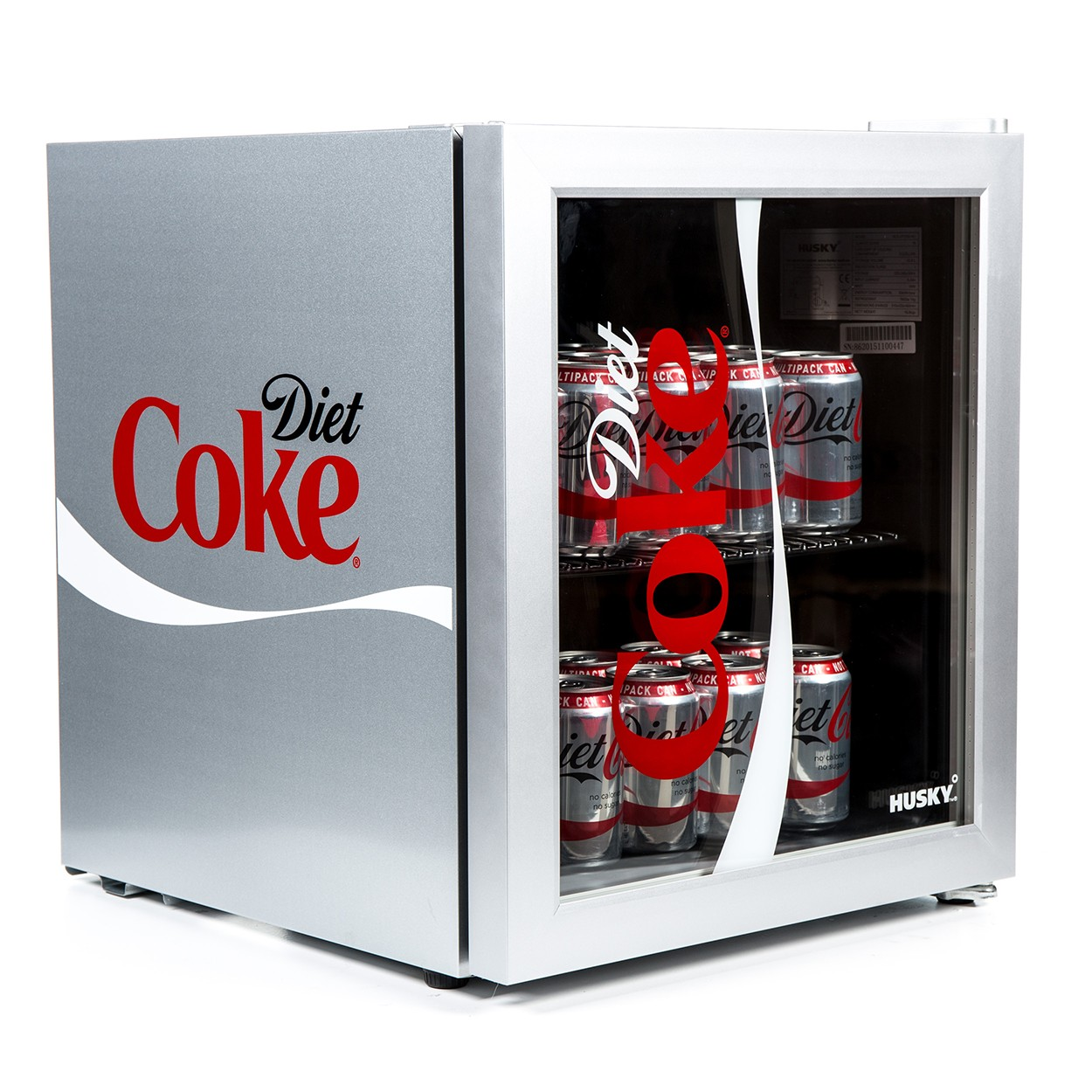 Husky Hy209 Diet Coke Branded Table Top Drinks Chiller