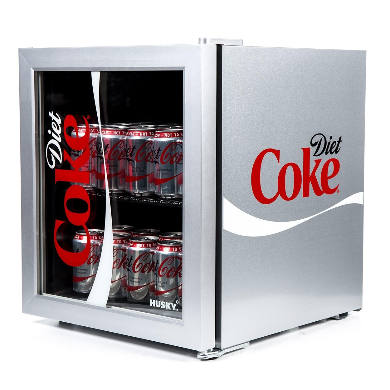 Husky HY209 Diet Coke Branded Table Top Drinks Chiller