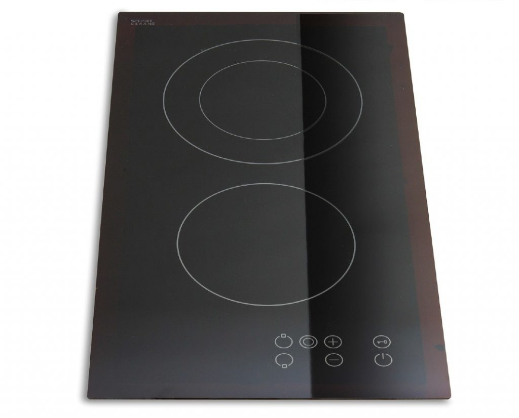 Montpellier CT250 | 30cm Ceramic Electric 2 Zone Touch Control Domino Hob 13 amp-0