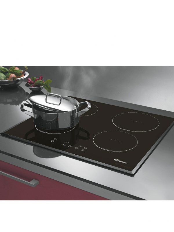 Candy CI640CBA | 60cm, 13amp Induction Hob-1799