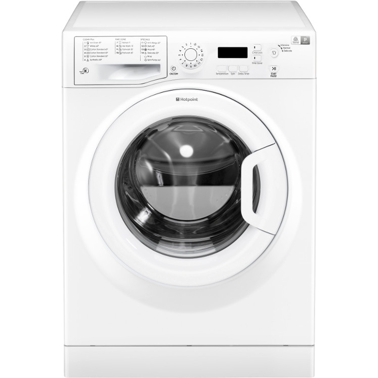 Hotpoint WMBF742P | White 7kg Washing Machine -0