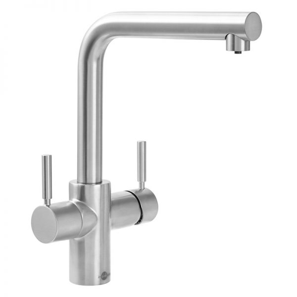 InSinkErator 3N1BR | Instant Hot mains water tap Complete Kit - Brushed Steel-2374