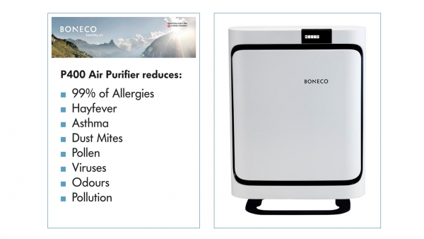 BoneCo P400 Freestanding Air Purifier -2530