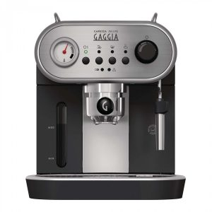 Gaggia Carezza Deluxe | Espresso Coffee Machine - Silver and Black-2494