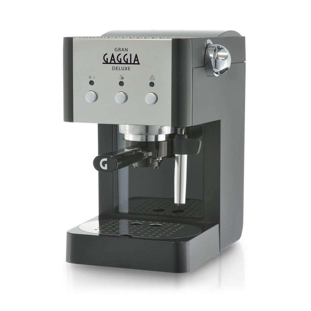 Gaggia Gran Deluxe | Black and Silver Espresso Coffee Machine-0