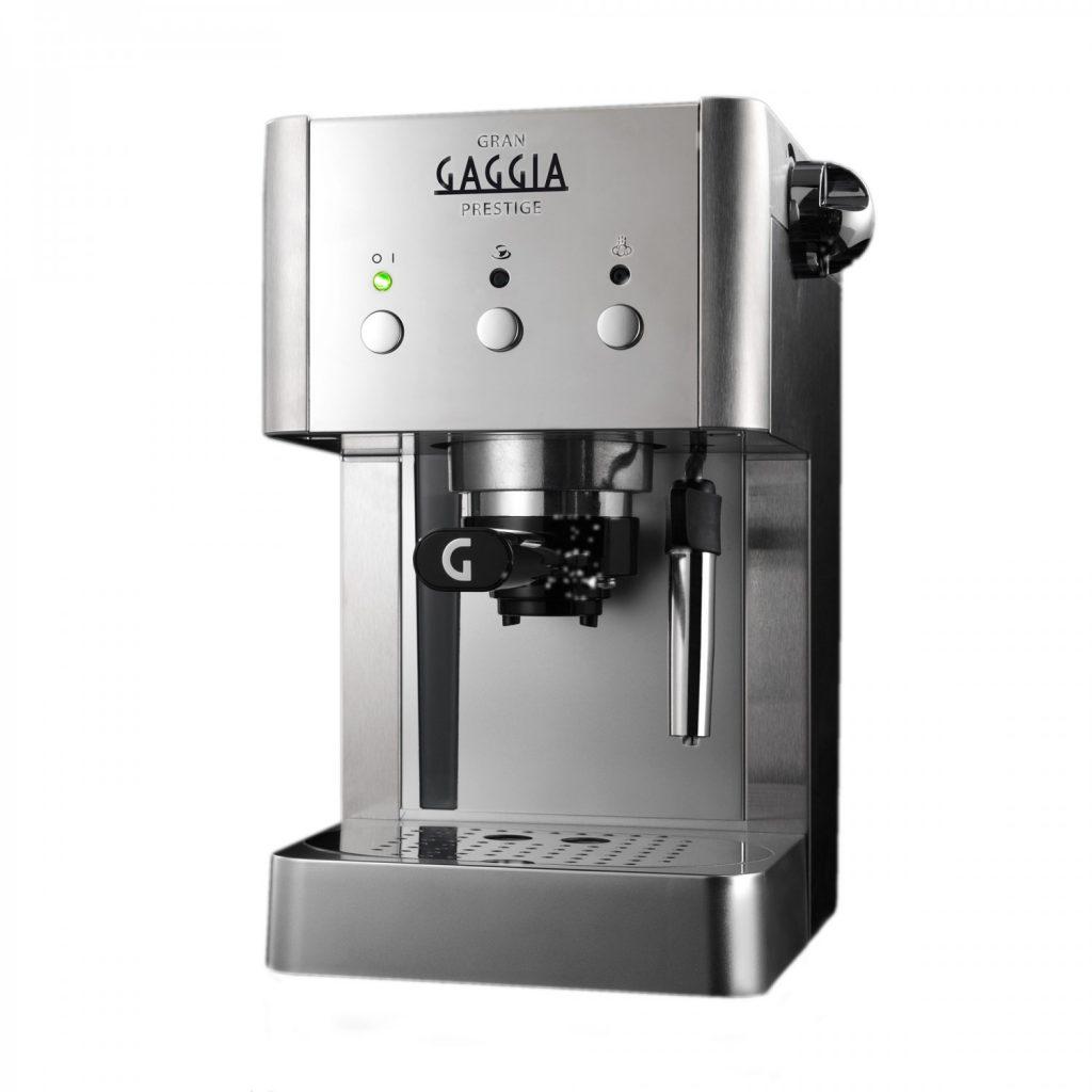 Gaggia Gran Prestige | Silver Espresso Coffee Machine-0