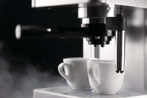 Gaggia Gran Deluxe   Espresso Coffee Machine Red-3202
