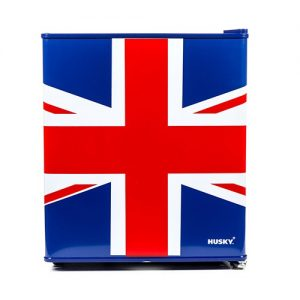 Husky EL193 | Union Jack Mini Table Top Fridge-0