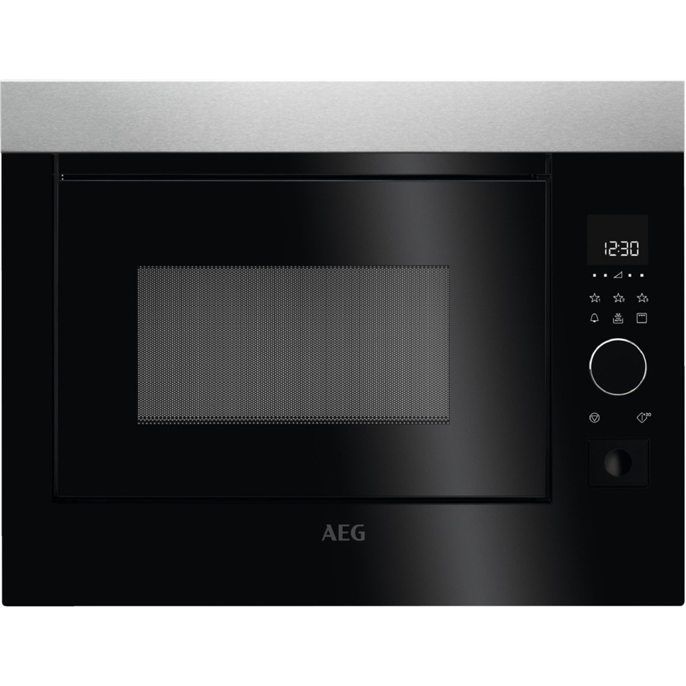 AEG MBE2658D-M | Built In Touch Control Microwave with Grill - Black-0