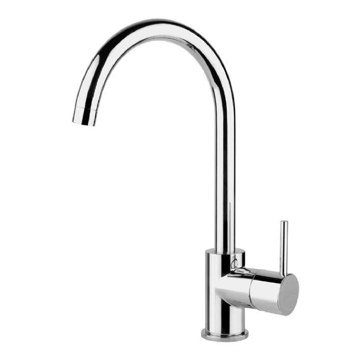 InSinkErator MT3300-C | Mains Hot and Cold Single Lever Mixer Tap - Chrome -0