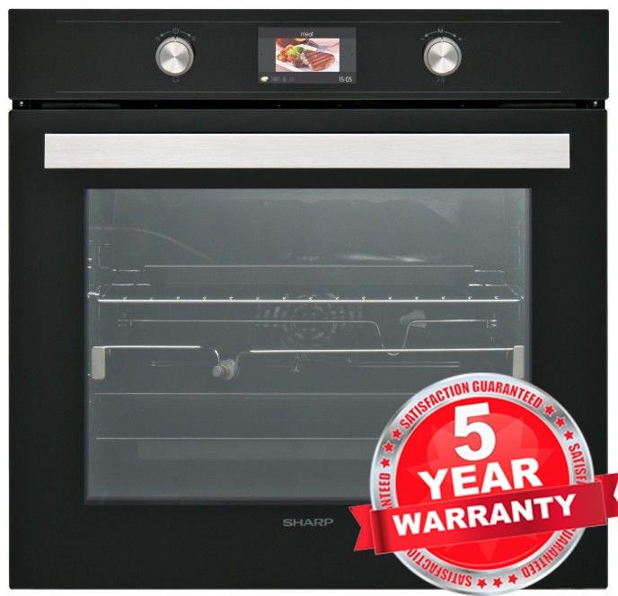 Sharp Ks 70s50bss 60cm Built In Catalytic Single Oven