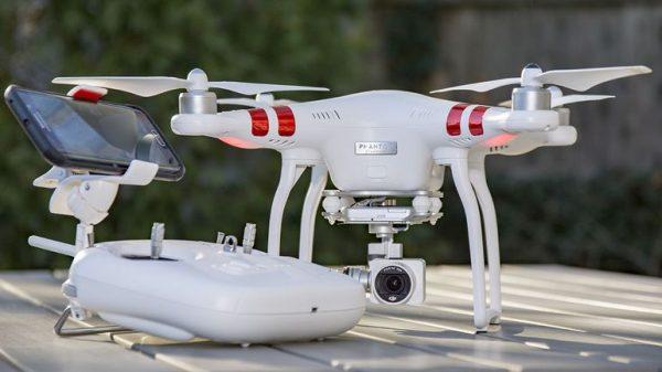 DJI Phantom 3   Standard Quadcopter Camera Drone - White -3718