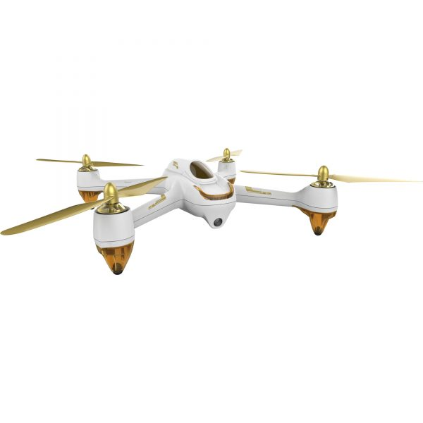 Hubsan H501S | Brushless Quadcopter RC Drone, 1080P HD Camera, GPS - White-3741