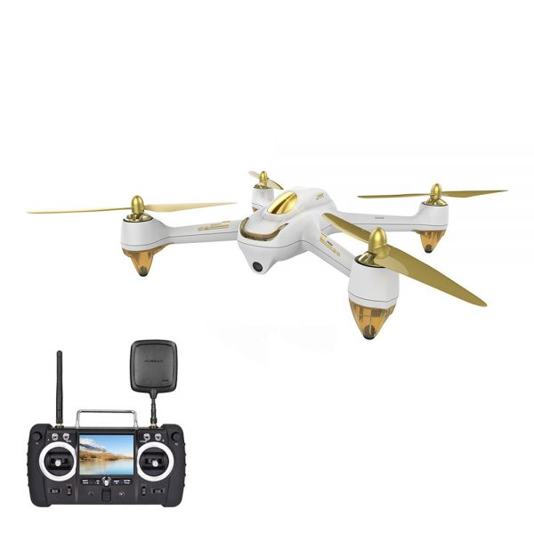 Hubsan H501S | Brushless Quadcopter RC Drone, 1080P HD Camera, GPS - White-3740