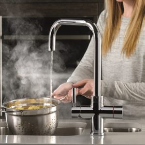 Montpellier Multiplex 3in1QC | Quad Spout Mains Hot, Cold & Boiling Water Tap - Chrome-3865
