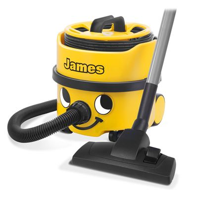 Numatic James Vacuum JVP180 | Cylinder Vacuum Cleaner - Yellow -0