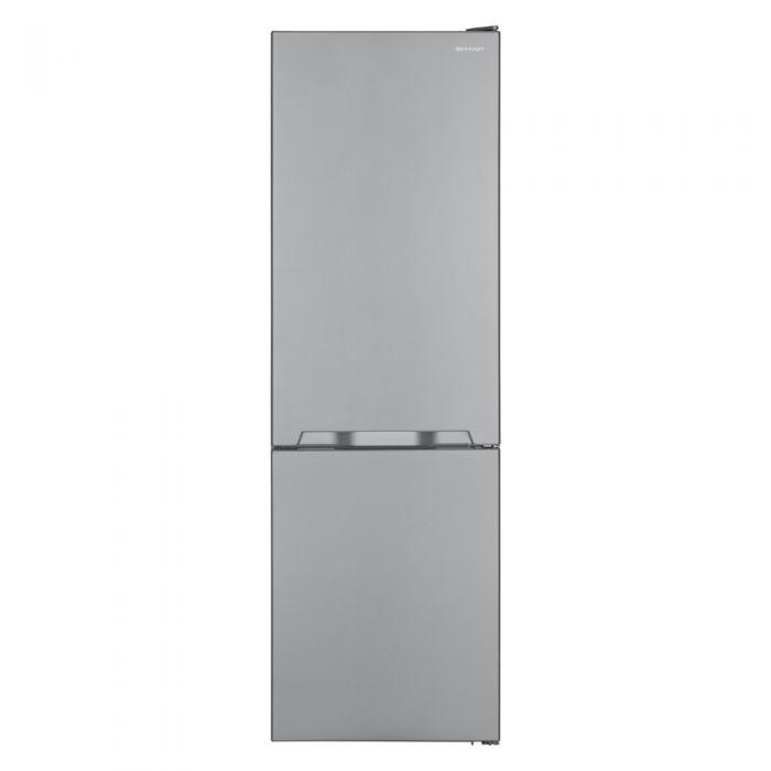 Sharp SJBM324S Frost Free F/Freezer Silver 60cm Wide-0