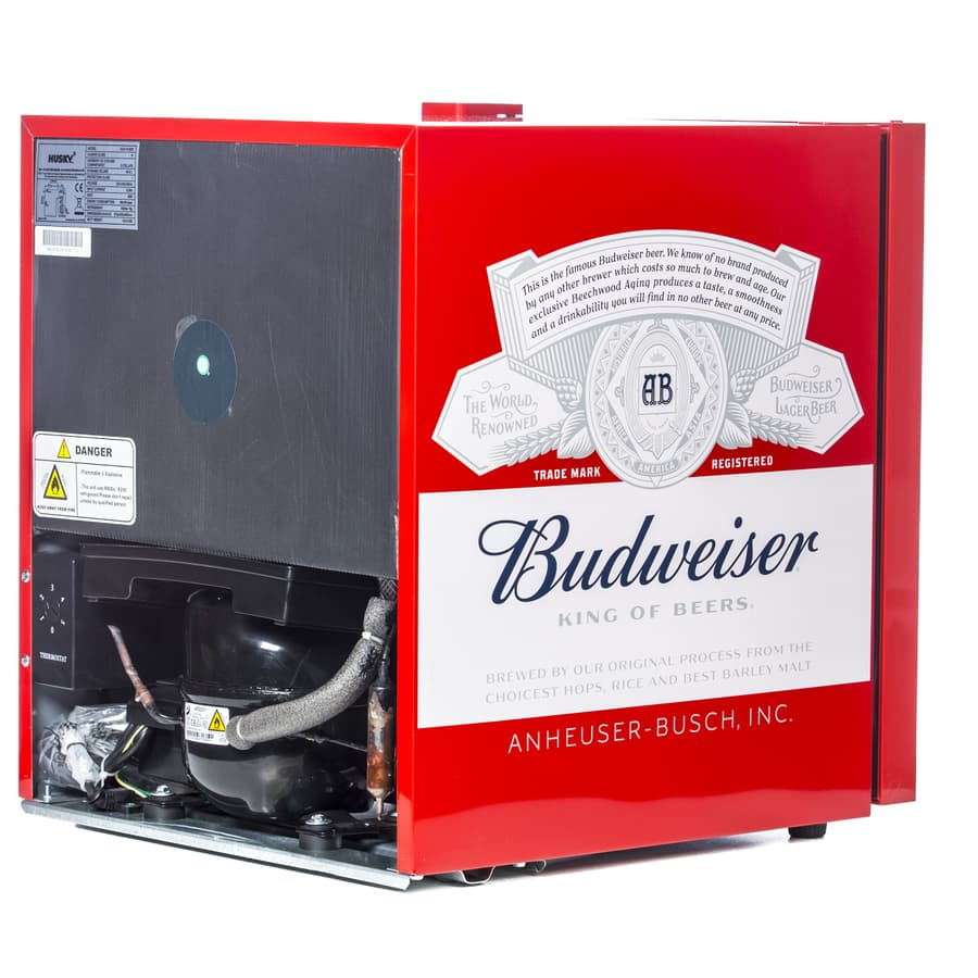 Husky Hu225 Budweiser Drinks Cooler Mini Beer Fridge