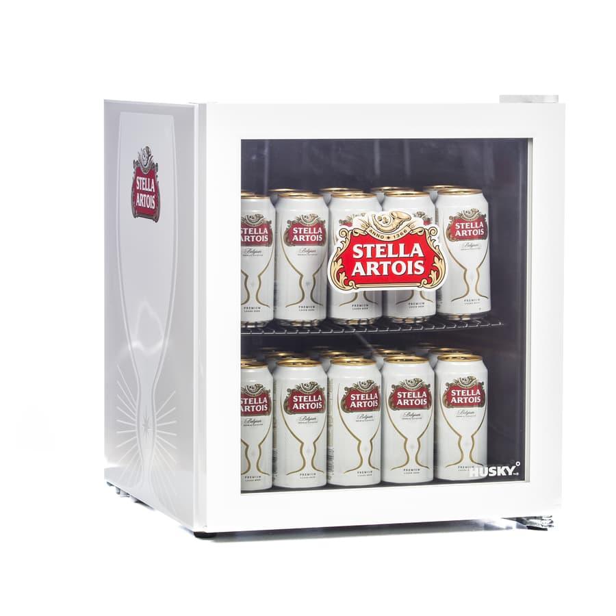 Husky Hu219 Stella Artois Drinks Cooler Mini Beer Fridge