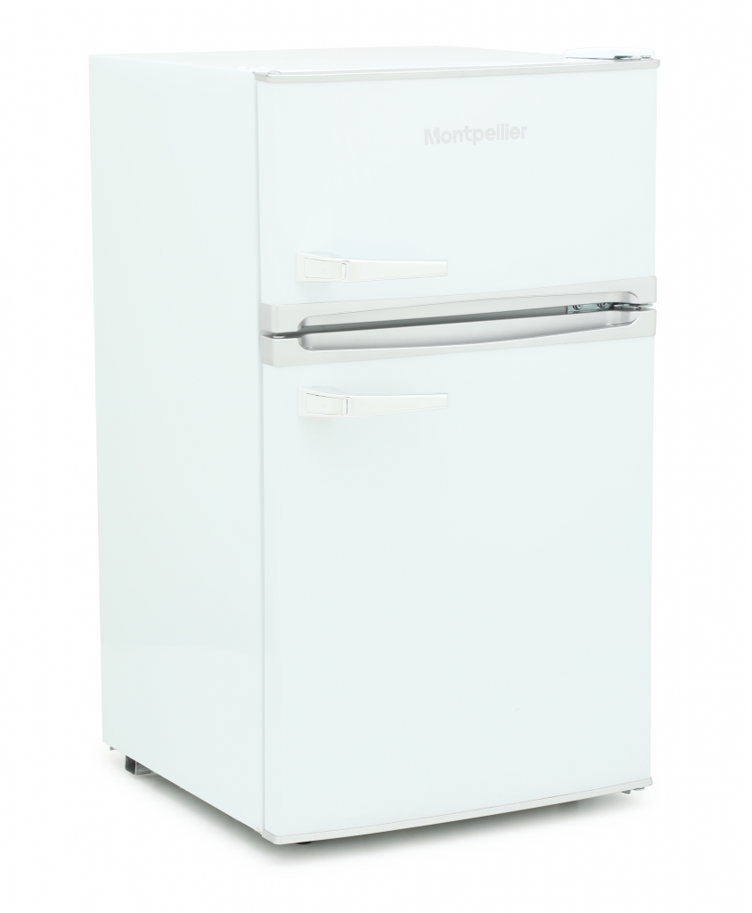 montpellier mab2031w retro fridge freezer