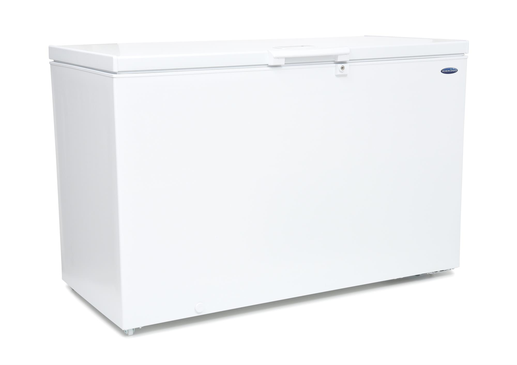 Iceking Cf390w 390 Litre Capacity Large Chest Freezer
