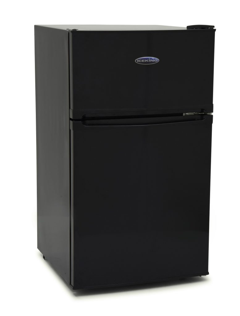Iceking IK2023K 48cm Undercounter Fridge Freezer A+ Energy Rating – Black