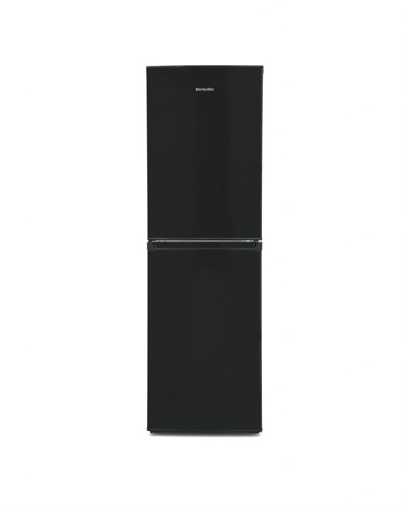 Montpellier MS171BK Static Combi Fridge Freezer - Black