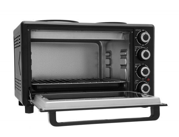 Royale TT30 Mini Electric Table Top Cooker Black