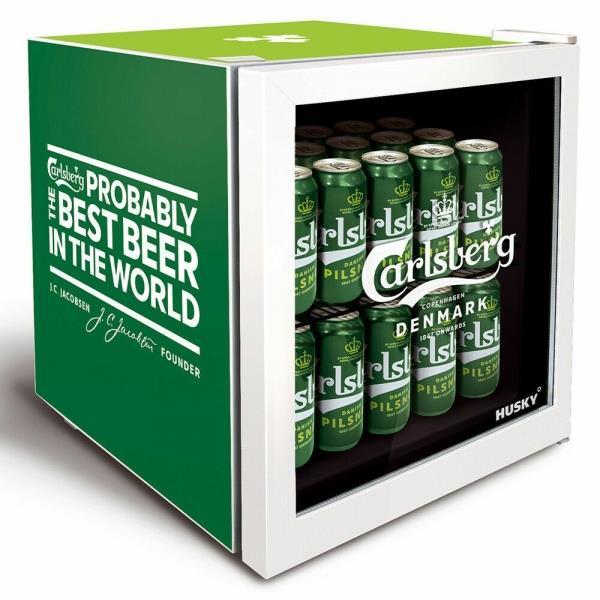 Husky HU269 40L Carlsberg Table Top Drinks Fridge