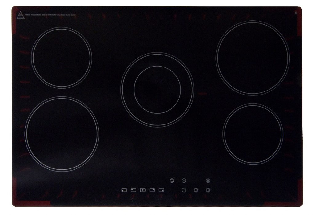 Montpellier CT750 75cm Touch Control Ceramic Hob Black