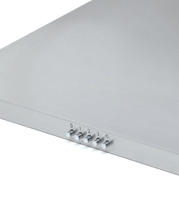 Montpellier MH600X 60cm Chimney Cooker Hood Stainless Steel