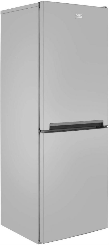 Beko CFG1552S Freestanding 50/50 Frost Free Fridge Freezer - Silver - A+ Rated