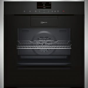 Neff B87VS38N0B Hide and Slide Built In Touch Control Oven Black