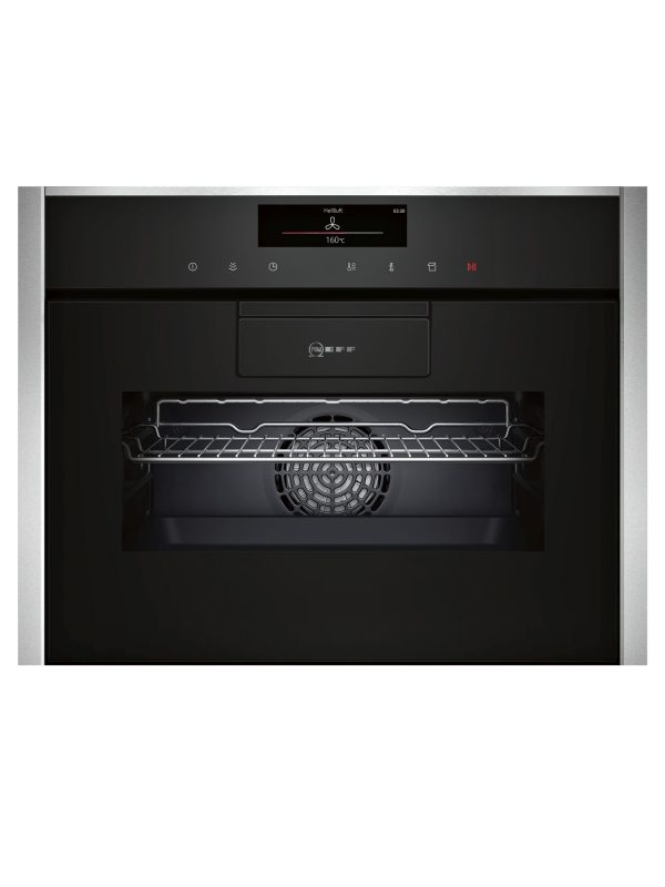Neff C88FT38N0B Compact Oven with Steam Function