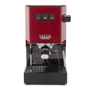 Gaggia Classic Pro Red Manual Espresso Coffee Machine