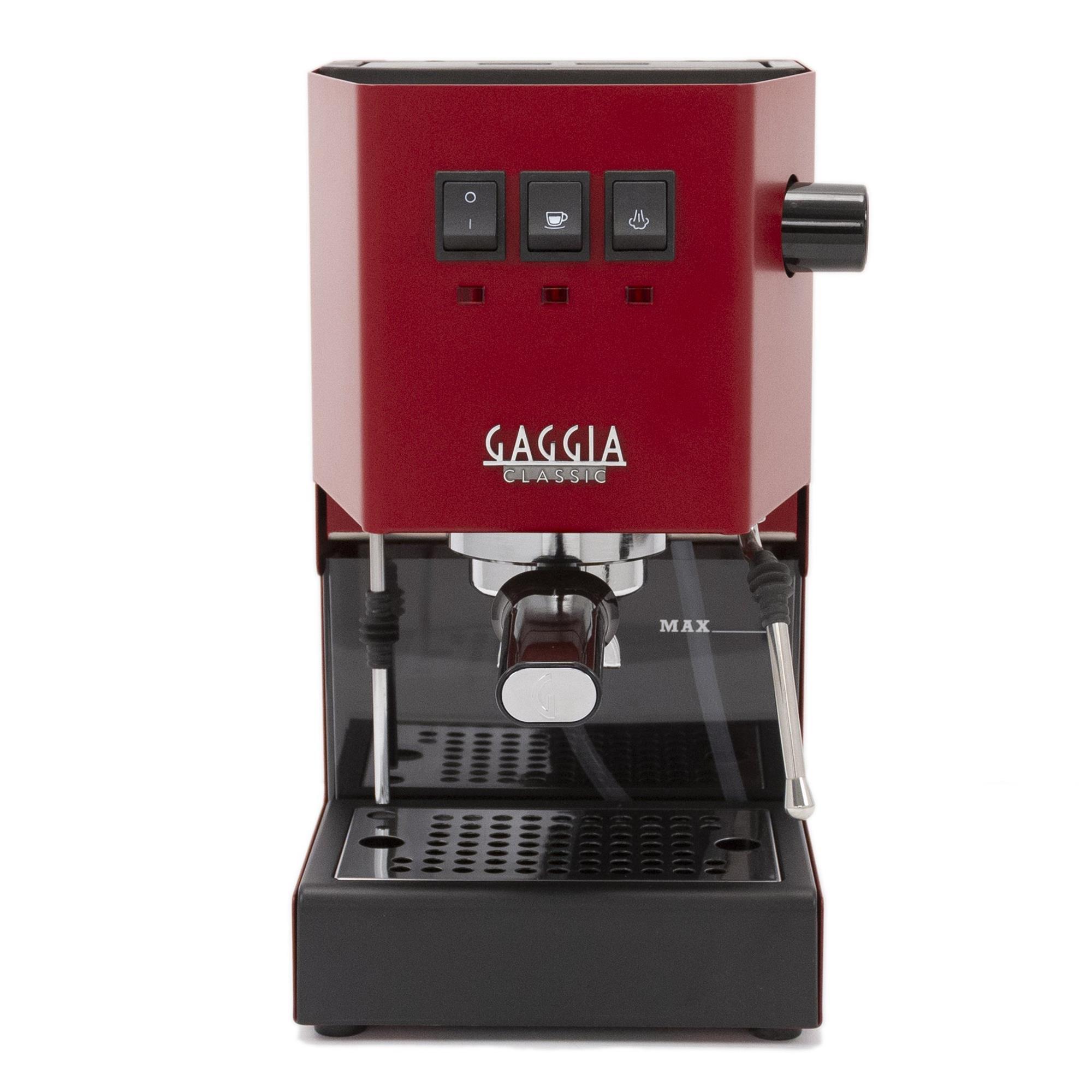 Gaggia Classic Pro Red Manual Espresso Coffee Machine