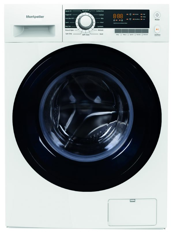 Montpellier MW1040P 10kg Freestanding Washing Machine - A+++ Energy Rating