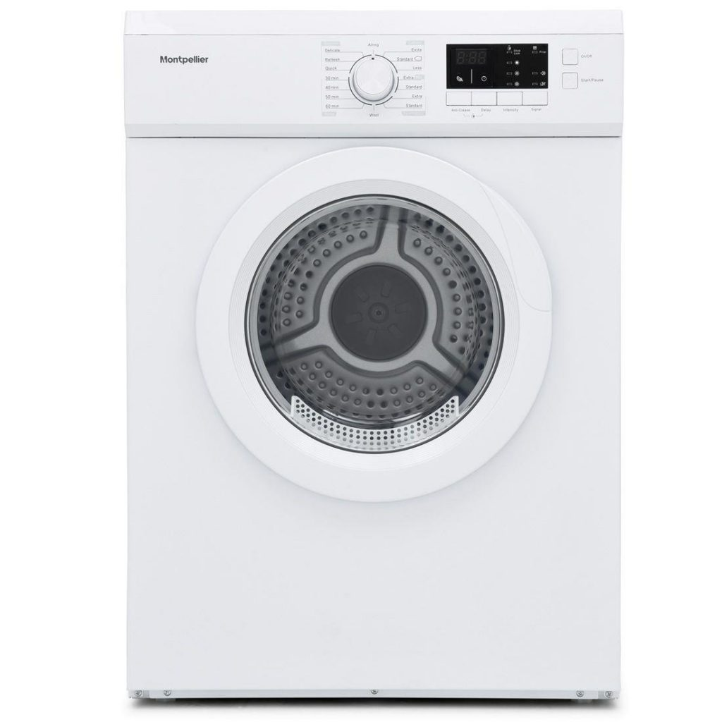 Montpellier MVSD7W 7kg Vented Sensor Tumble Dryer