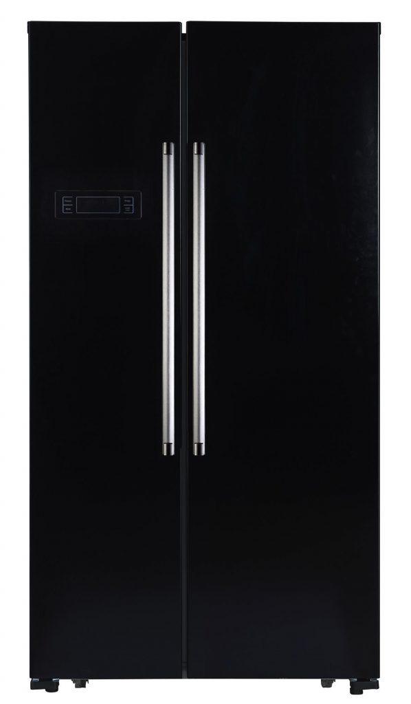 Montpellier M605K American Style Side By Side Fridge Freezer