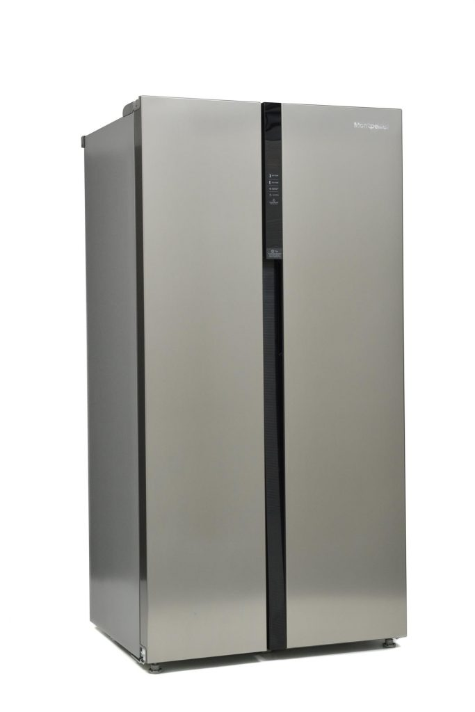 Montpellier M510BX American Style Side-By-Side Fridge Freezer